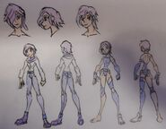 Violet Heelhum, casual and Hyde Attire