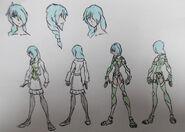 Yolie Tsubaki, casual and Pack Attire