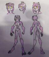 Greta, werebear form