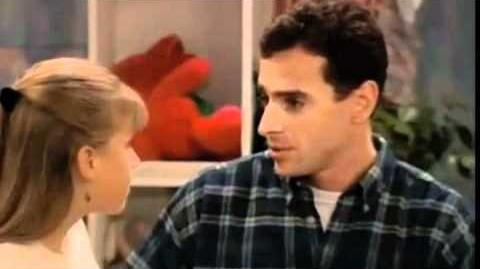 Full House scenes- Danny tells Stephanie that Gia was in a car accident