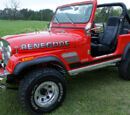 Winry Rockbell Elric's 1983 Jeep CJ-7 Renegade