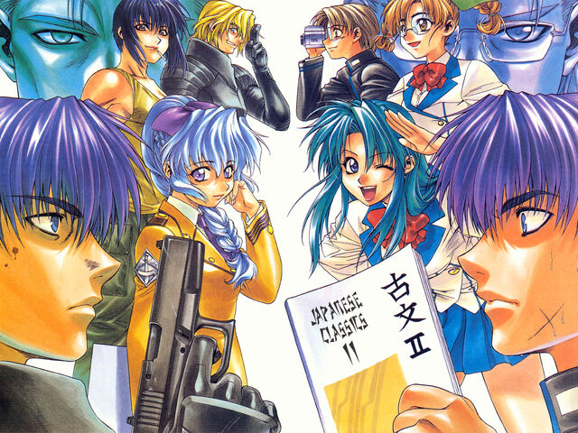 File:Konachan.com - 2926 book camera chidori kaname full metal panic glasses gun kazama shinji kurz webber melissa mao sagara sousuke teletha testarossa tokiwa kyoko weapon.jpg