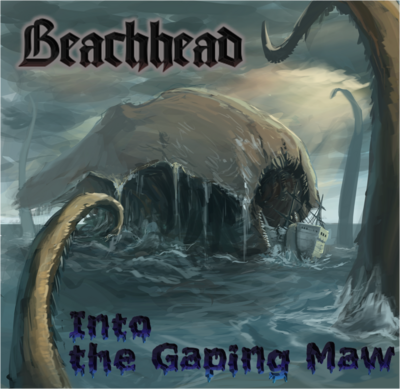 Into the gaping maw ep cover art