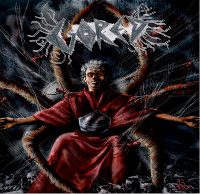Priestly black spider single art