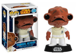 Star Wars Pop! 28 Admiral Ackbar