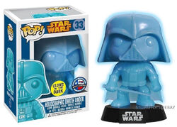 Star Wars Pop! 33 Holographic Darth Vader