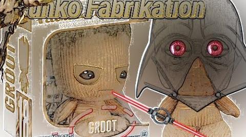 Unboxing & Review Funko Fabrikation Gardien de la galaxie GROOT