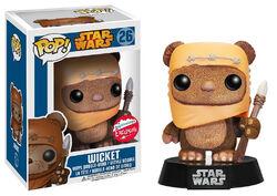Star Wars Pop! 26 Wicket (Flocked)