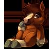 1102-chestnut-horse-plush