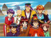 Fushigi yugi suzaku group