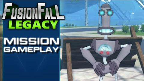 FusionFall Legacy - Mission Gameplay
