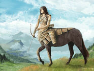 Centaur huntress by janiceduke-d5grw9q