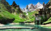 640px-1600x958 8079 Landscape 3d fantasy landscape castle mountains picture image digital art