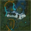 Forgotten Falls Map