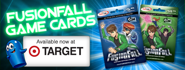 Fusionfall game cards