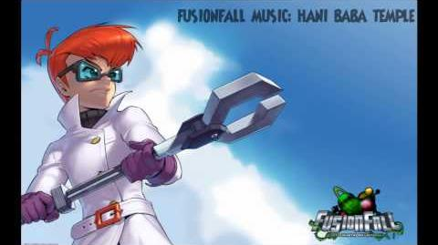 Fusionfall Music - Hani Baba Temple(Infected Zone)