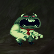 FusionFall ChalkZone Bully Nerd in Fusion Lair