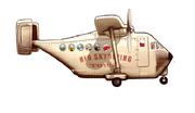 Smuggler plane