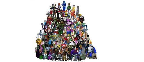 452px-FusionFall Entire Cast by Chill8ter1