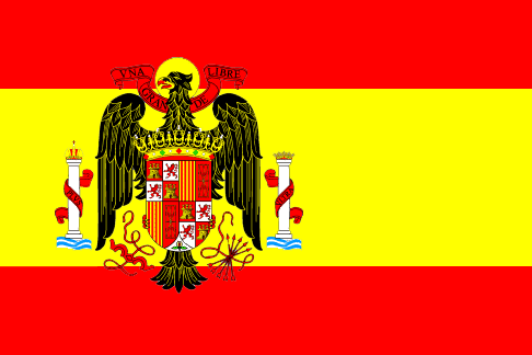 Archivo:Flag of the Spain Under Franco.png