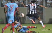 Ronaldinho no Jogo contra Arsenal no jogo pela Libertadores.jpg