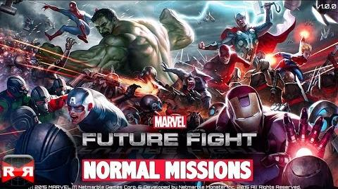 MARVEL Future Fight (By Netmarble Games) - iOS Android - Normal Missions Gameplay