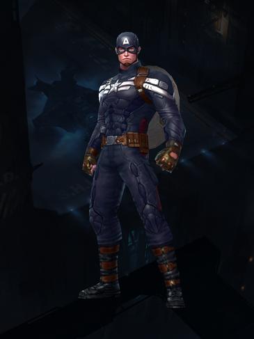 Captain America - The Winter Soldier Uniform