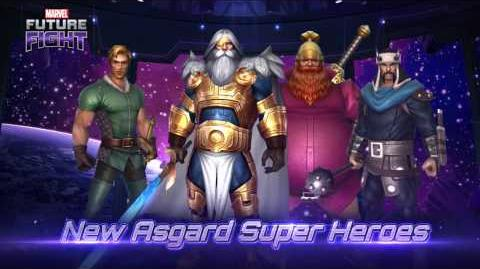 MARVEL Future Fight Meet the New Super Heroes and Villains from Asgard!