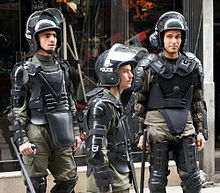 File:Riot police in Damascus.jpg