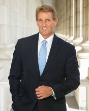 Jeff Flake official Senate photo