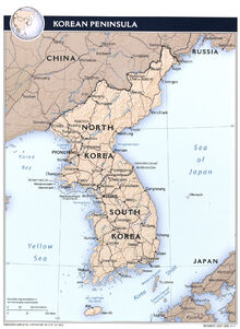 Korean peninsula rel 2011