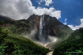 Angel Falls HDR by dllavaneras-1-