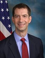 Tom Cotton official Senate photo