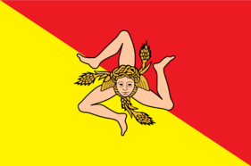Flag of the Sicilian Republic
