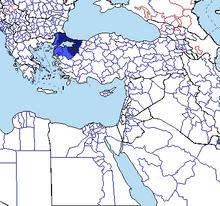 Byzantium Empire Expansion Turn 1