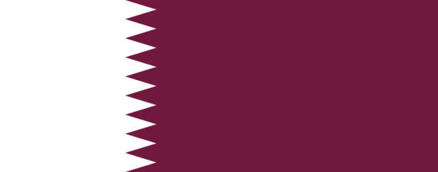 File:Flag of Qatar.png