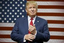 Donald trump flag