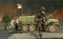 Russian troops in Helsinki