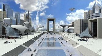Floating City Korea