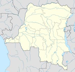 Democratic Republic of the Congo location map