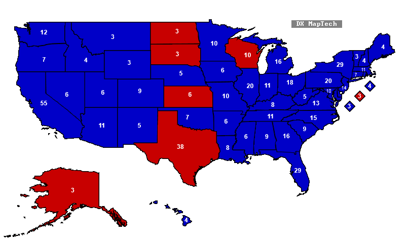 predictions on the upcoming presidential elections in the us