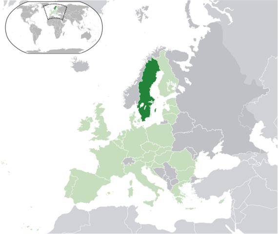 File:Map of Sweden in EU.png