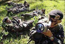 Scout Rangers in Palawan