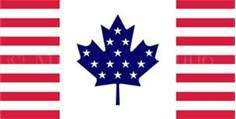 Flag of Canadamerica