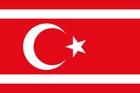 Turk Republic flag