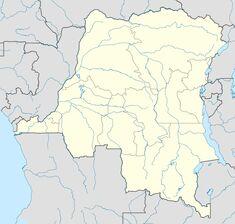 Administrative map DRC