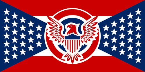 United Republic of America Flag