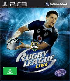 Rugby League Live Cover Art