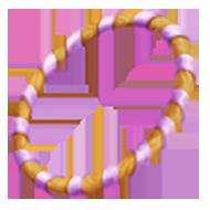 Lavender Training Hoop