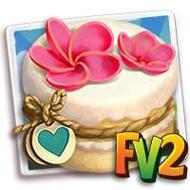 Heirloom Frangipani Cake